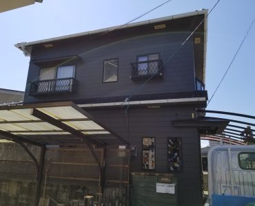 松山市M様邸施工写真