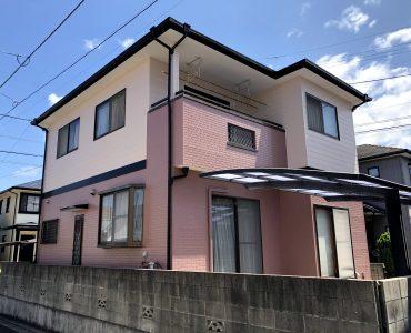 松山市 I様邸外壁・屋根塗装工事