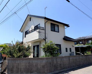 松山市内 K様邸 外壁塗装工事 施工写真