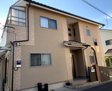 松山市 H様邸 外壁塗装工事