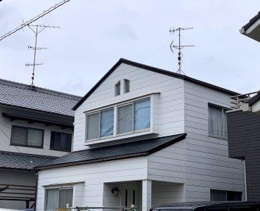 松山市 U様邸 屋根塗装工事 施工写真